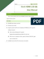 5inch HDMI LCD B User Manual En