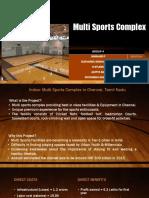 Multi Sports Facility