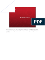 Red Hat Foundations Slides Transcript
