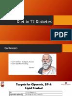 Diet in Diabetics