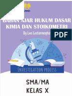 Bahan Ajar Hukum Dasar Kimia dan Stoikiometri