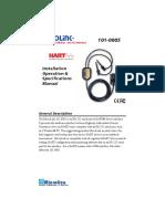 101-0005 RS232 MicroLink Manual