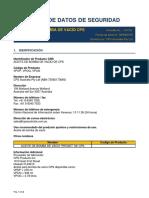 Hoja de Datos de Seguridad LPVQL_CPS ES