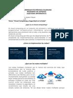 Informe Seguridad Cloud
