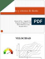 5. Factores de Diseño en vias