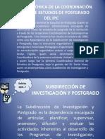 RESEÑA HISTÓRICA DE LA COORDINACIÓN GENERAL DE ESTUDIOS..ppt