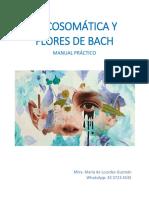 Manual Psicosomatica y Flores de Bach