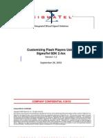 Customizing Flash Players Using SigmaTel SDK2 4 XX