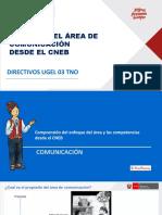 currículo 2019 área de comunicación