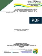 PAM 2016-2019 Sabanalarga