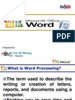 MS Word Mail Merge  Lesson