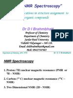 1H - NMR Spectroscopy