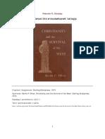 Oliver Hristianstvo i Vyzhivanie Zapada