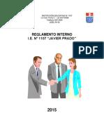 Reglamento Interno Javier Prado 2015