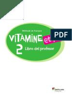 Vitamine 2 Libro Profesor