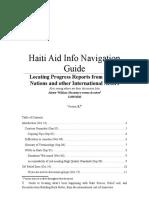 Haiti Aid UN Info Navigation v 1.7