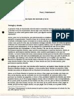 MS-108 Economía y Teología Las Leyes Del Mercado y La Fe