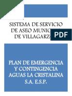 Plan de Emergencia y Contigencia.