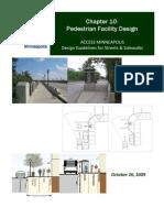 Chapter 10 Pedestrian Facility Design 3170
