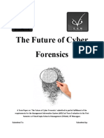 The Future of Cyber Forensics