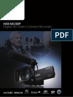 Sony Hxr Mc50p