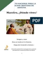 Maestro Donde Vives 1 (Resumen)