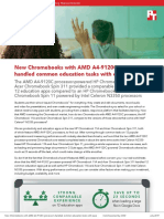 New Chromebooks with AMD A4-9120C processors handled common education tasks with ease