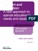 A New Approach to Special Educational Needs