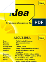 Idea Cellular- About, Board of Director, SWAT Analysis