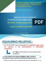 IV-fluidos en Equilibrio Relativo