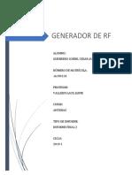 Generador de Rf