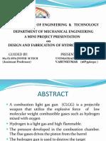 Hydrogen Gas Gun Modified