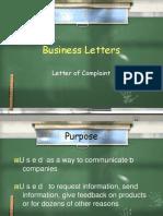 businessletter-