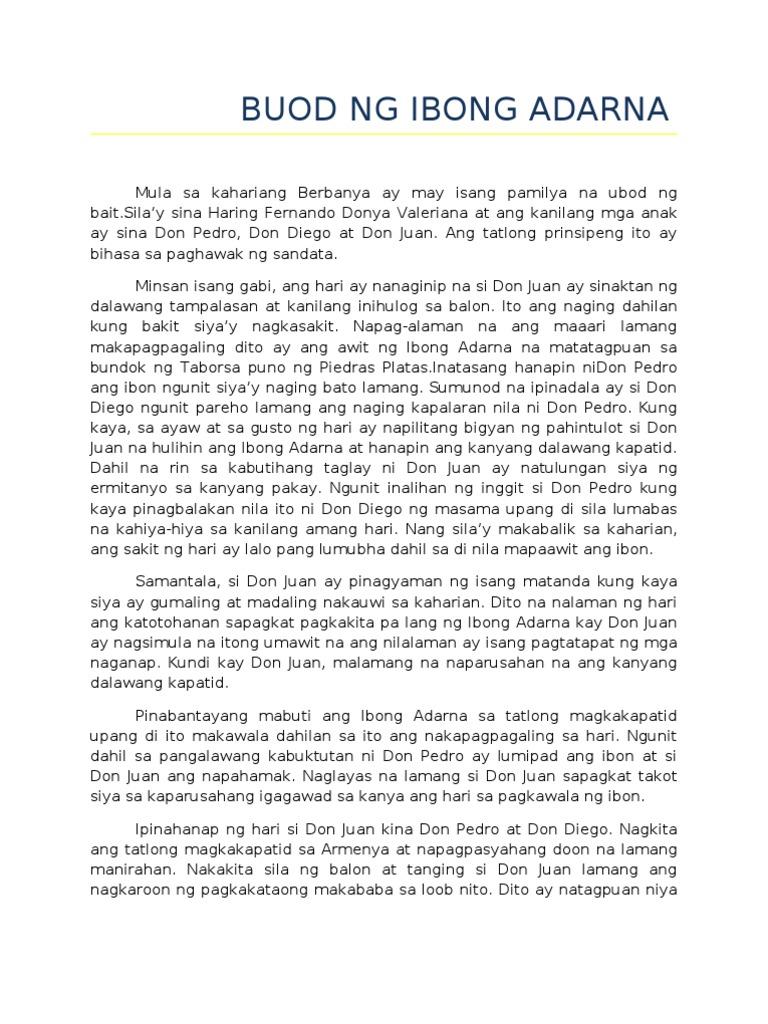 buod ng ay ayeng Contextual translation of buod ng pelikulang bawat bata ay espesyal into tagalog human translations with examples: click summary movie.
