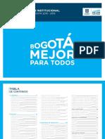 Uso de Logo Bogota Mejor