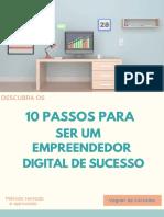 10 Passos Para Ser Um Empreendedor Digital de Sucesso