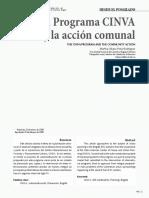 Peña Rodriguez - El Programa CINVA y La Acción Comunal