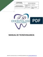 Manual Tecnovigilancia