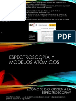 Espectroscopía y Modelos Atómicos (1)