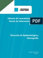 Informe Caracterización Riesgos Laborales