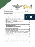 Std 11 Business Studies Model