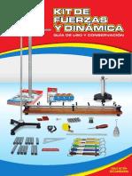 FUERZAS Y DINAMICA-KIT-MINEDU-Guía de Usos y Conservación Del Kit De