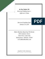 Isner Deposition - open records lawsuit