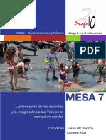 La Formación de Los Docentes y La Integración de Las Tic en El Curriculum Escolar