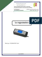 TP N°02 Le rugosimètre