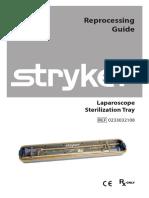 Stryker Instructions Sterilization