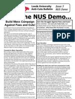 Leeds Anticuts Bulletin 5