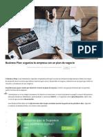 Business Plan_ Cómo Preparar Un Plan de Negocio Eficaz