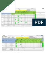 Matriz Precomisionamiento General, Electricidad, Instrumentación, Mecánica y Eissa