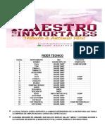 Rider Tecnico El Maestro